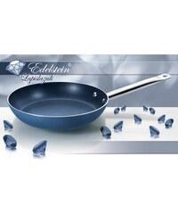 EDELSTEIN® Bratpfanne EDELSTEIN Lapislazuli mit echten Edelsteinkristallen keramisch verstärkt blau