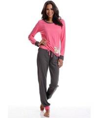 NICI Zweifarbiger Pyjama mit Schäfchenprint rosa 32/34,36/38,40/42,44/46