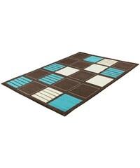 Teppich Trend Teppiche BLOCKS-502211 TREND TEPPICHE braun 2 (B/L: 80x150 cm),3 (B/L: 120x170 cm),4 (B/L: 160x225 cm),6 (B/L: 200x290 cm),7 (B/L: 235x320 cm)
