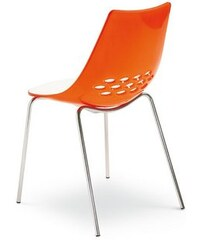 CONNUBIA BY CALLIGARIS connubia by Stühle CS/1059 Jam (2 Stck.) orange
