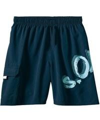 Badeshorts RED LABEL Beachwear S.OLIVER RED LABEL blau 4,5,6,7,8,9