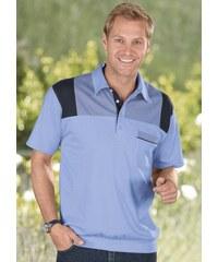 Poloshirt mit Bund Baur blau 44/46,48/50,52/54,56/58,60/62
