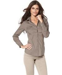 Arizona Damen Jeansbluse braun 36,38 (S),40,42 (M),44,46 (L),48