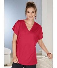 Damen Classic Basics Shirt mit weiten Ärmeln CLASSIC BASICS rot 38,40,42,44,46,48,50,52,54,56