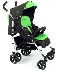 CHIC4BABY Alu Buggy mit komfortabler Einhand-Rückenverstellung MAXX CHIC 4 BABY schwarz
