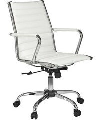 AMSTYLE Amstyle Chefsessel Genf 2 weiß