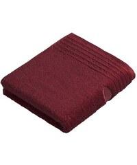 Vossen Handtücher Dream mit Streifenbordüre rot 2xHandtücher 50x100 cm