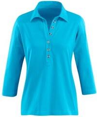 Damen Collection L. Poloshirt in PUREWEAR-Qualität COLLECTION L. blau 36,38,40,42,44,46,48,50,52,54