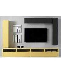 LC LC TV-Lowboard Breite 139 cm gelb