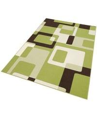Teppich Tiznit Retro Design abstrakt gewebt HANSE HOME grün 2 (B/L: 80x150 cm),3 (B/L: 120x170 cm),4 (B/L: 160x230 cm),6 (B/L: 200x290 cm)