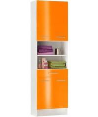 Bad Hochschrank Sellin Breite 60 cm SCHILDMEYER orange
