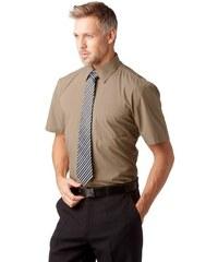 Studio Coletti Businesshemd (Set mit Krawatte) braun 35/36 (XS),37/38 (S),39/40 (M),41/42 (L),43/44 (XL),45/46 (XXL),49/50 (4XL)