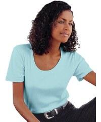 Damen Collection L. Kurzarm-Shirt aus atmungsaktiver hautsympathischer Qualität COLLECTION L. blau 36,38,40,42,44,46,48,50,52,54