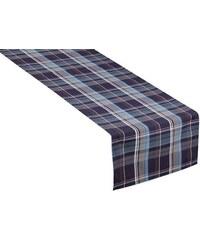 Tischläufer New Check (1er Pack) Tom Tailor blau 150x50 cm