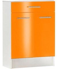 Bad SCHILDMEYER Unterschrank Sellin Breite 60 cm orange