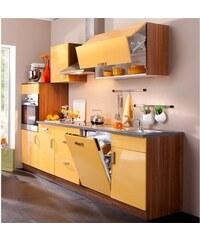 Küchenzeile Reno Breite 280 cm Baur orange