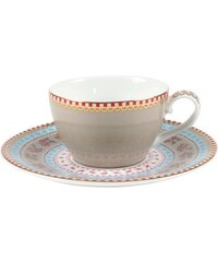 PIP STUDIO Espressotasse+Untertasse Ribbon Rose (12er-Set) Studio grün