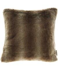 Tom Tailor Kissenhülle Fleece (1er Pack) braun 40x40 cm