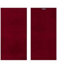 Handtücher Prestige in Uni mit Bordüre Egeria rot 2xHandtücher 50x100 cm