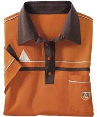 Poloshirt mit dekorativer Stickerei Baur orange 44/46,48/50,52/54,56/58,60/62