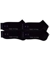 Tommy Hilfiger Klassische Füßlinge (4 Paar) mit Markenlogo schwarz 39-42,43-46