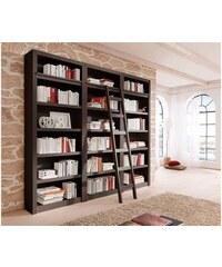 HOME AFFAIRE Bücherwand Bergen (3-tlg.) Breite 244,5 cm braun