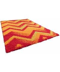 ORIENTAL WEAVERS Hochflor-Teppich Happy Shaggy 3 Höhe ca. 40mm gewebt rot 2 (B/L: 80x150 cm),3 (B/L: 133x190 cm),4 (B/L: 160x235 cm)