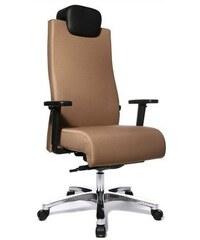 Bürostuhl bis 150 kg belastbar in 2 Farben TOP STAR braun