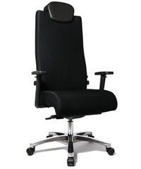 Bürostuhl bis 150 kg belastbar in 2 Farben TOP STAR schwarz