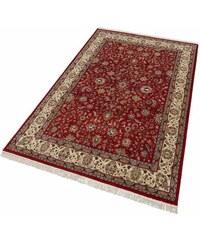 Unikat-Teppich Parwis Mohammadi Täbriz 139 000 Knoten/m² handgeknüpft 100% Schurwolle PARWIS rot 1 (B/L: 60x90 cm),2 (B/L: 70x140 cm),3 (B/L: 120x180 cm),4 (B/L: 170x240 cm),6 (B/L: 200x300 cm),9 (B/L