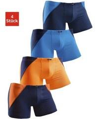 Boxer (4 Stück) mit coolem Colorblocking für einen sportlichen Auftritt H.I.S bunt 110/116,122/128,134/140,146/152,158/164,170/176,98/104,182