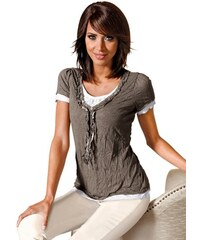 Baur Damen Shirt braun 36,38,40,42,44,46,48,50,52,54