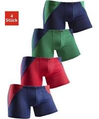 H.I.S Boxer (4 Stück) mit coolem Colorblocking für einen sportlichen Auftritt bunt 110/116,122/128,134/140,146/152,158/164,170/176,98/104,182