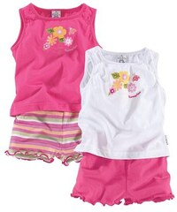 Klitzeklein T-Shirt & Shorts (Packung 4 tlg.) KLITZEKLEIN rosa 68,74,80,86,92,98,104