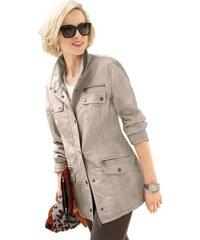 CLASSIC INSPIRATIONEN Damen Classic Inspirationen Jacke mit feinen Farbschattierungen grau 19,20,21,22,23,24,25