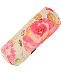 APELT Nackenrolle Blütendruck natur 19x50 cm