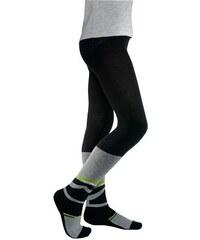 Kinder Skistrumpfhose mit Funktionsplüsch CFL grün 110/116,122/128,134/140,146/152,98/104