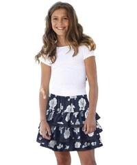 Arizona Volantrock mit Blumen-Muster für Mädchen bunt 128,134,140,146,152,158,164,170,176,182