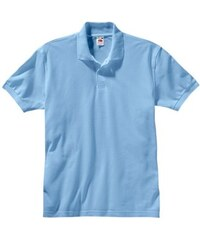 Damen Poloshirt Fruit of the Loom blau 4,5,6,7,8
