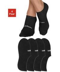 RED LABEL Bodywear Offene Füßlinge (4 Paar) mit verstärkter Ferse und Spitze S.OLIVER RED LABEL schwarz 35-38,39-42