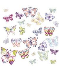 Fensterbilder EUROGRAPHICS Butterflies EUROGRAPHICS lila