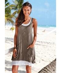 Damen Strandkleid Beachtime grün 32,34,36,38,40,42,44,46,48,50