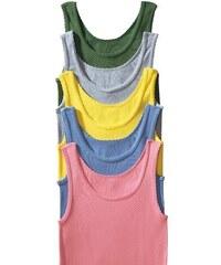 Petite Fleur Doppelripp-Tanktop-Unterhemd Cotton made in Africa (5 Stück) rosa 32,34/36,38/40,42/44,46/48,50/52,54/56,58/60