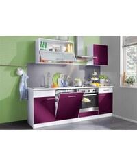 Küchenzeile Ahus Breite 220 cm Baur lila