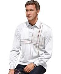 Poloshirt mit verstellbarer Kombimanschette HAJO weiß 44/46,48/50,52/54,56/58,60/62,64/66
