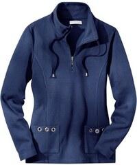 Damen Collection L. Shirt mit Wiener Nähte vorne COLLECTION L. blau 36,38,40,42,44,46,48,50,52,54