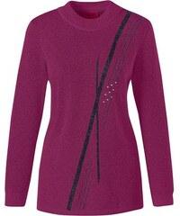 Damen Classic Pullover CLASSIC rosa 38,40,42,44,46,48,50,52,54