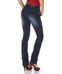 Arizona Damen Gerade Jeans Super-Stretch blau 17,18,19,20,21,22,76,80,84,88
