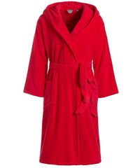 Damenbademantel Odessa mit Kapuze Egeria rot L,M,S,XL