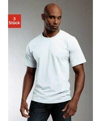 Rundhalsshirts (3 Stück) Baumwolle Cotton made in Africa Baur bunt 10 (60),4 (48),5 (50),6 (52),7 (54),8 (56),9 (58)